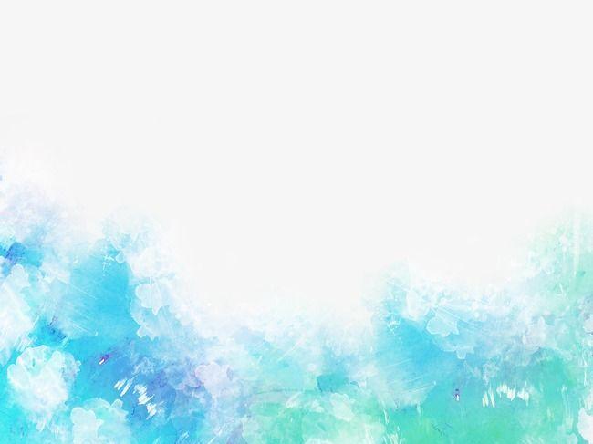 Azul Sombreado, Fondo De Fantasia, Acuarela Imagen PNG