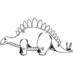 Stegosaurus Printable Coloring Page Free To Download And Print