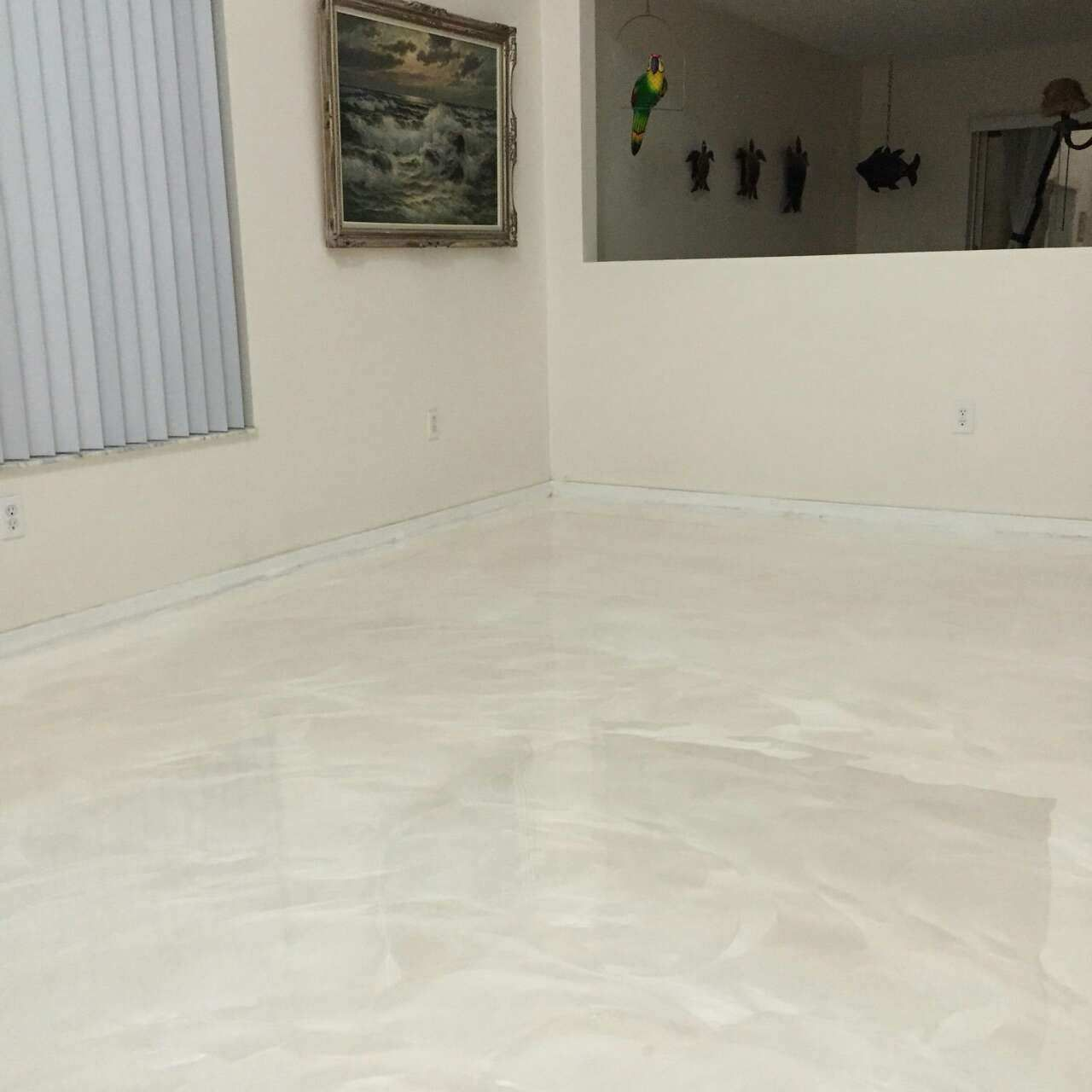 White Pearl Metallic   Epoxy. Epoxy floor  matte finish   Basement   Pinterest   Epoxy