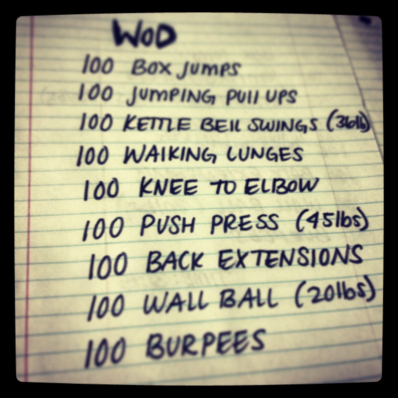 Woot! Partner WOD. 31:15