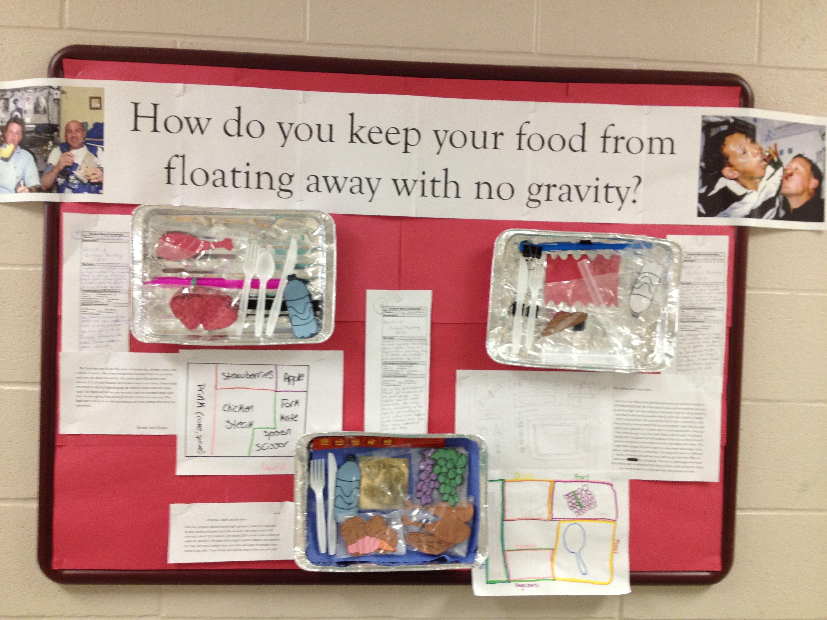 Space Food Bulletin Board