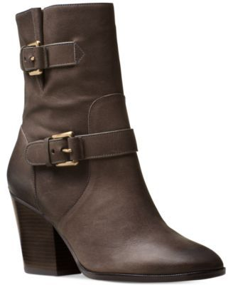 86fc9664ac83 MICHAEL KORS MICHAEL Michael Kors Ashton Zippered Booties.  michaelkors   shoes   boots