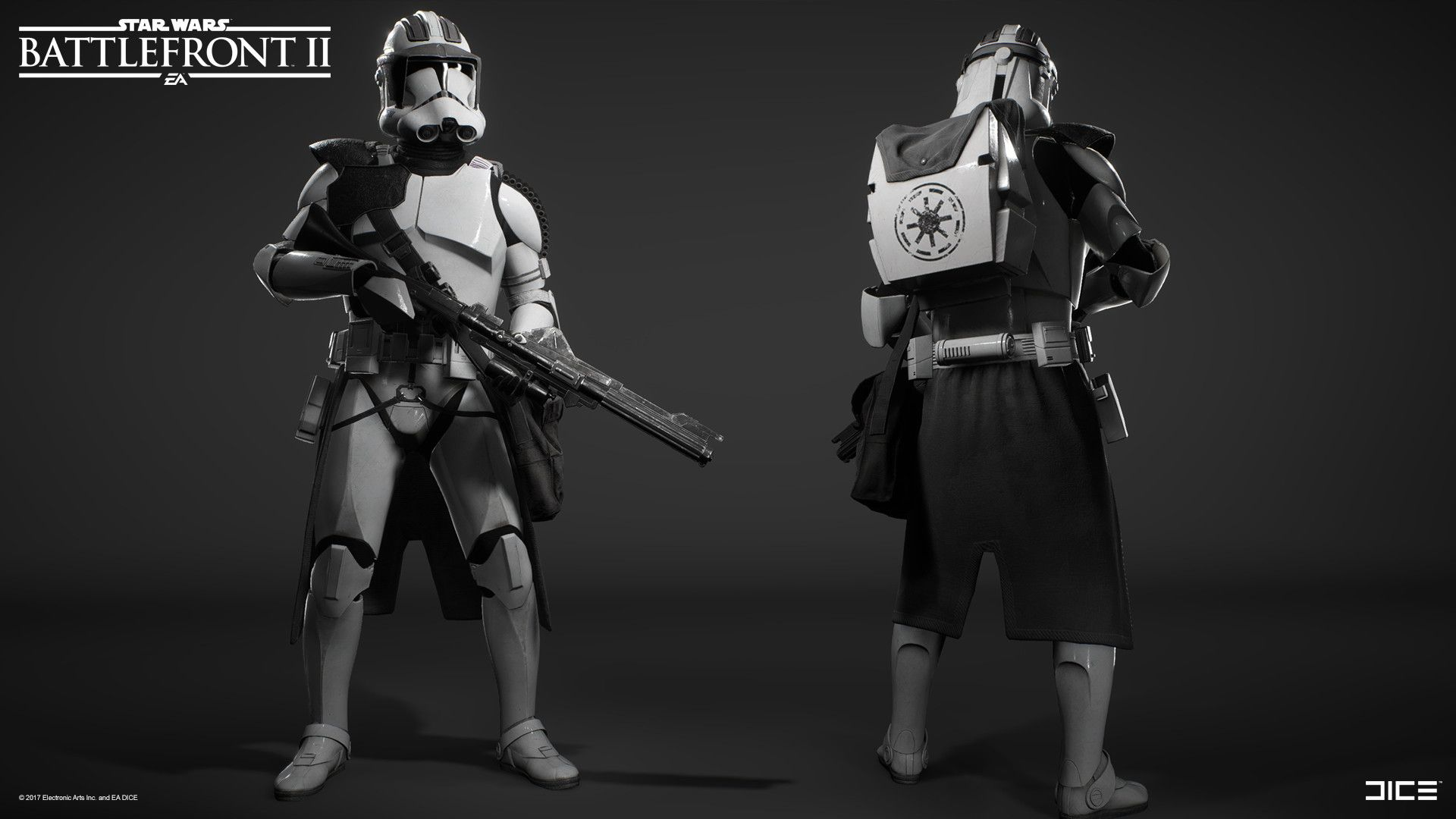 Artstation Star Wars Battlefront 2 Clone Trooper Heavy Class