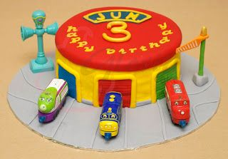 Gloria Cake: Chuggington Station