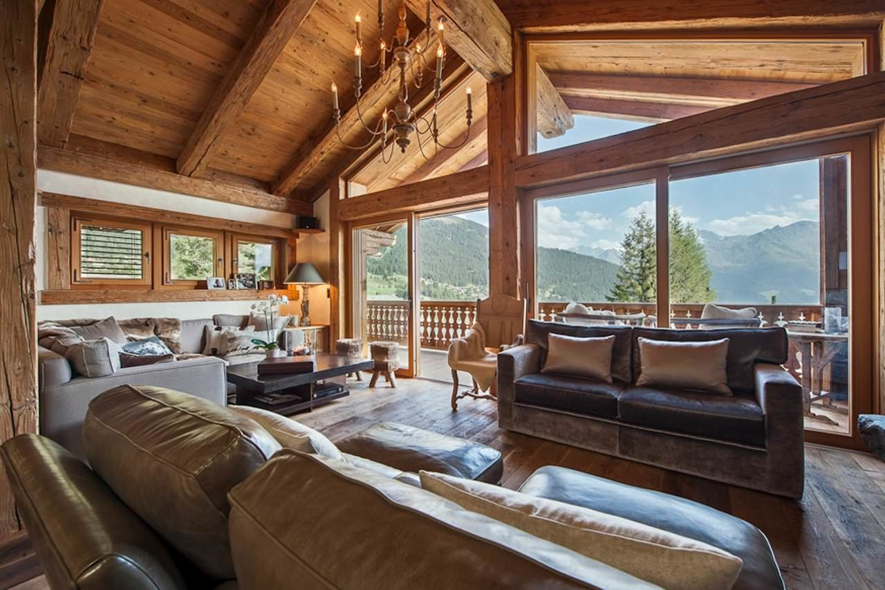 Luxury Swiss Ski Chalet Interiors