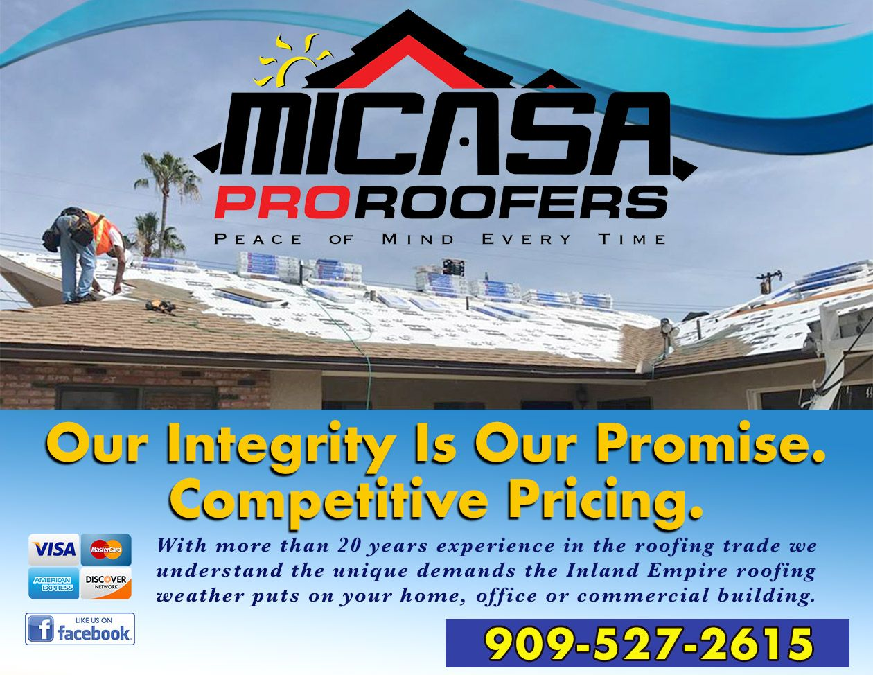 Micasa Pro Roofers Fotana Ads image by Micasa Roofing