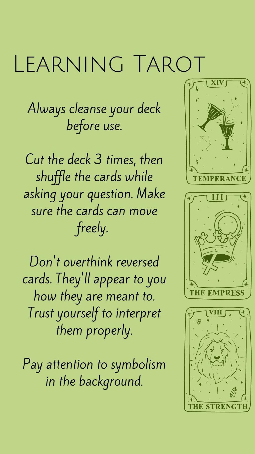 Quick Tarot References