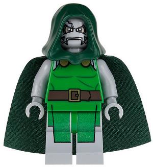 Doctor Doom Marvel DC Avengers Movie Minifigure LEGO Mini Figure