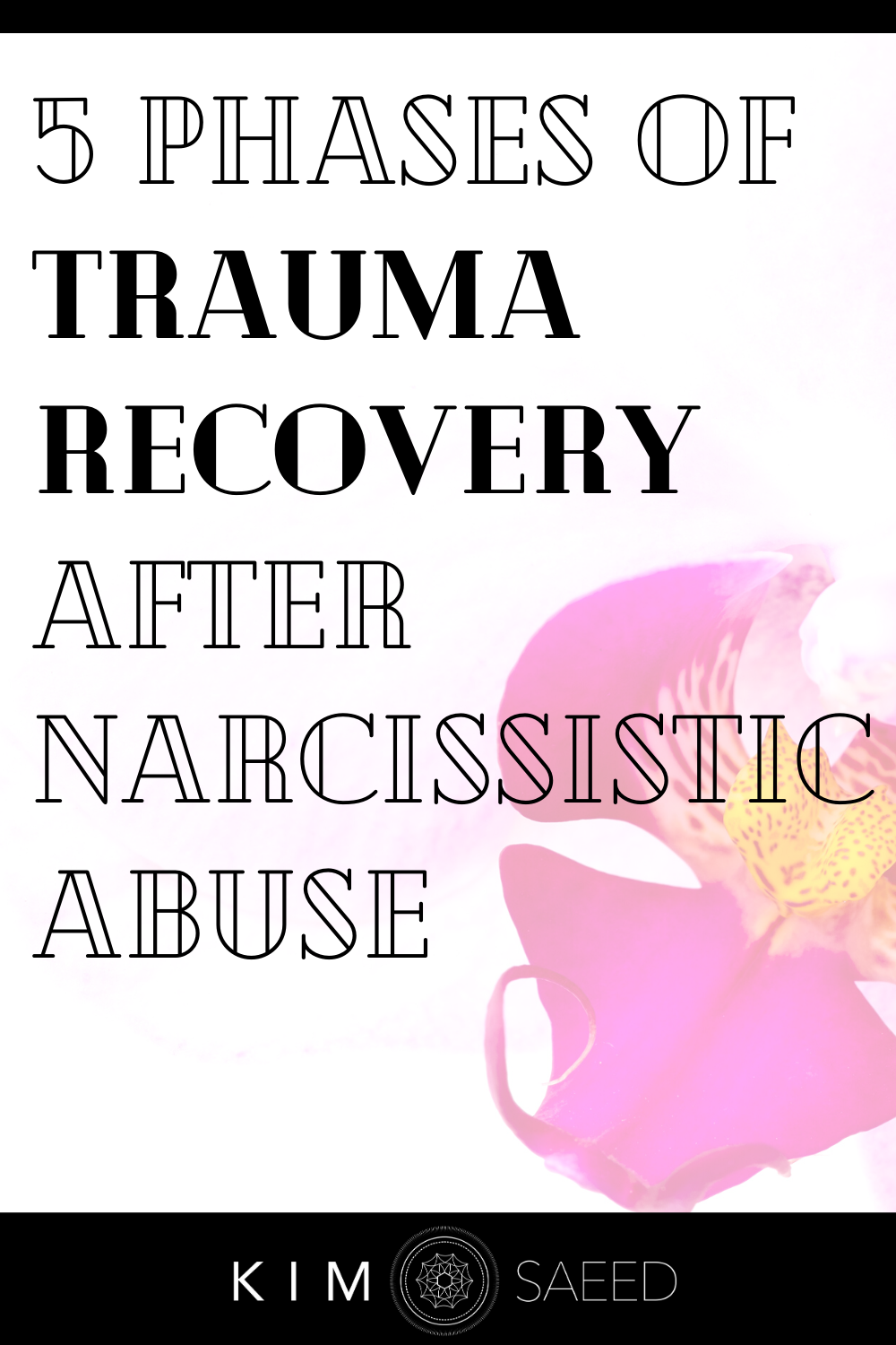 Working The 5 Phases of Trauma Recovery After Narc