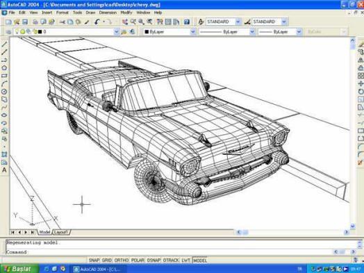 Dibujo Hecho Por Ordenador Autocad Tecnicas De Dibujo Disenos De Unas