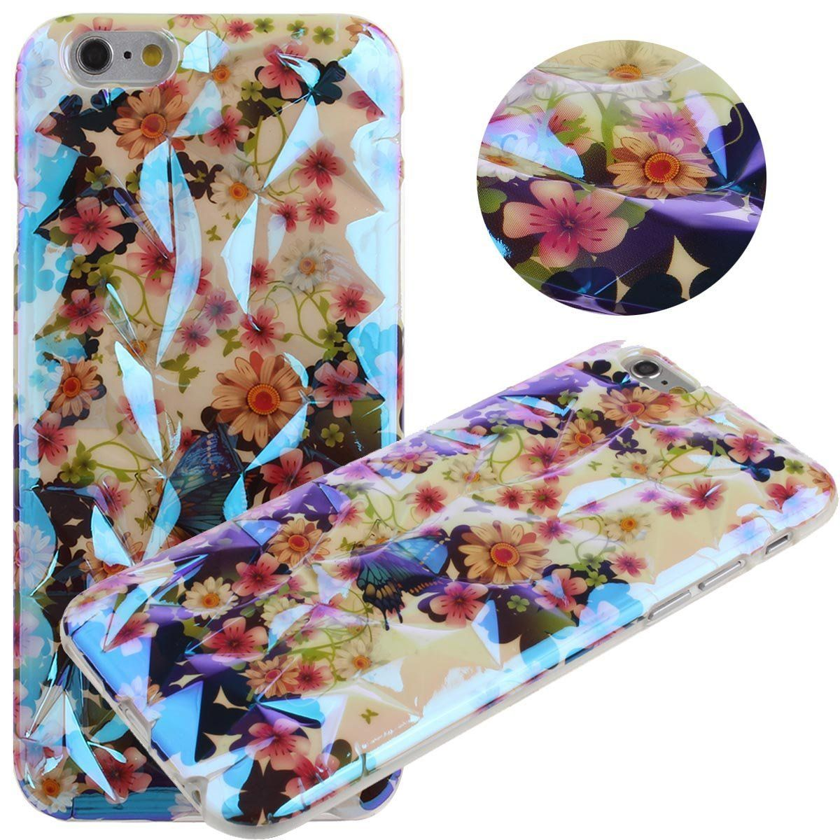 "New Release buy it for your girlfriends as a Valentine's day gift Nsstar Luxury 3D Flower Bird Tree Cage Cover Floral Crystal Diamond Protective Slim Fit Skin Hard Back Case Cover for Apple iPhone 6 with 4.7"" http://amzn.to/1BG68k2"
