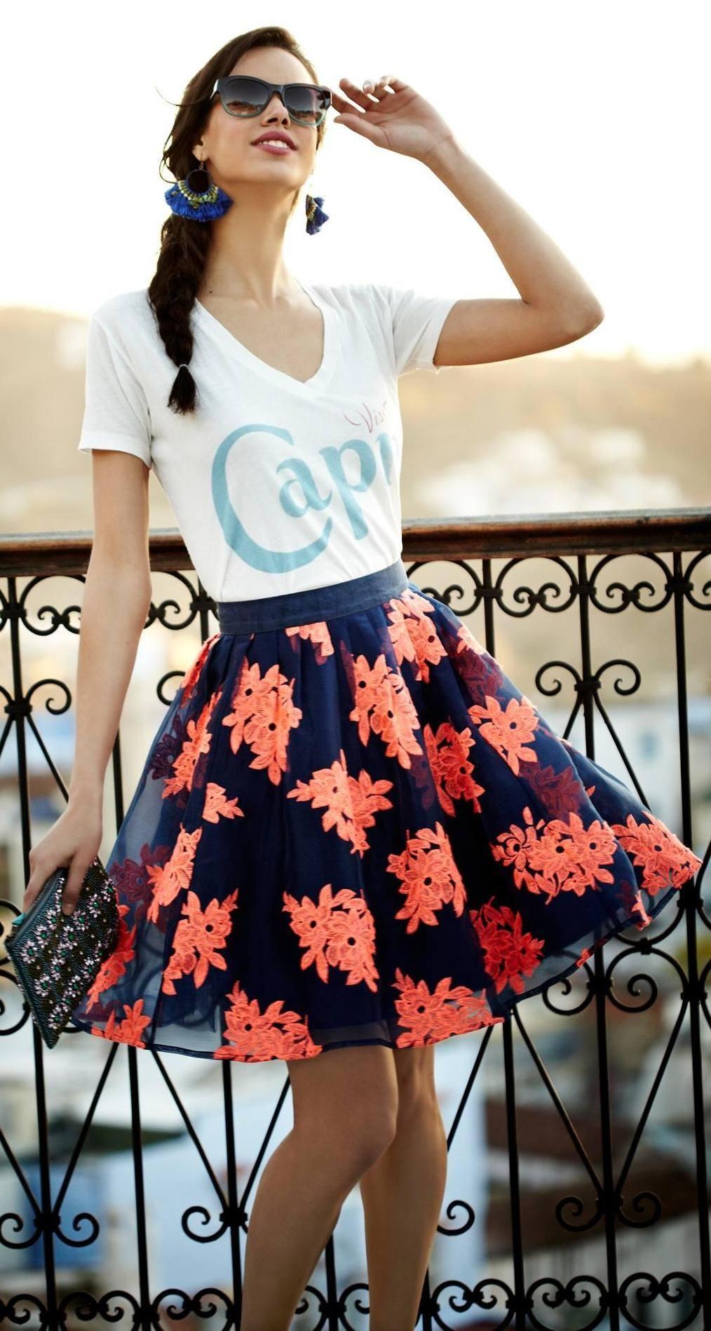 Pome Blossom Skirt