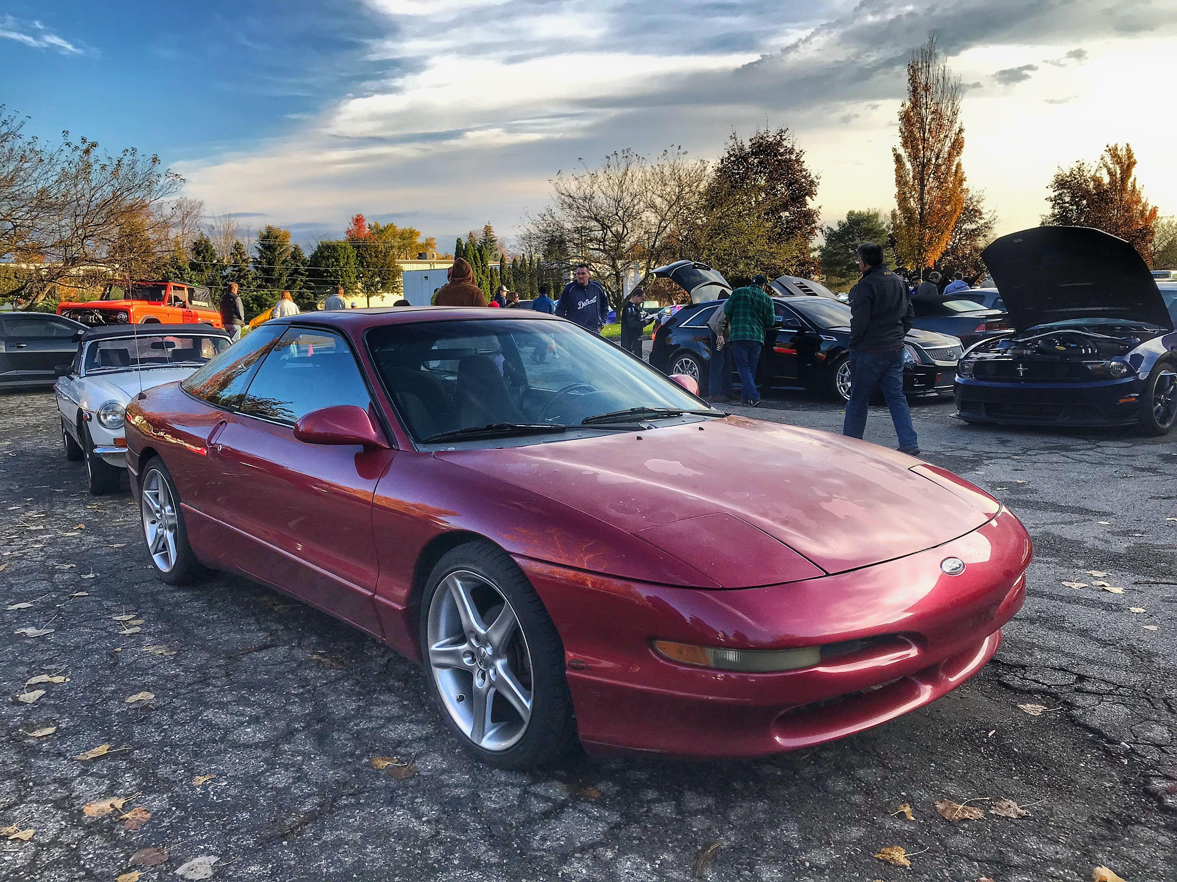 halloween cars and coffee