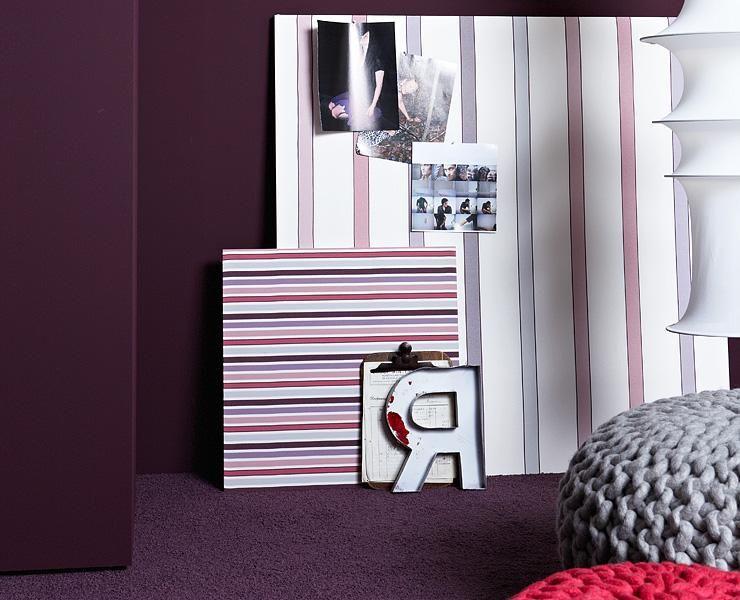 Beerentone Lounge Violett Und Rose Lounge Wandfarbe Und Farben