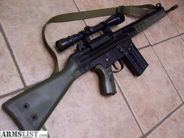 Cetme G3 For Sale: CETME / HK G3 CLONE .308 WIN $1400. Not The Best Rifle