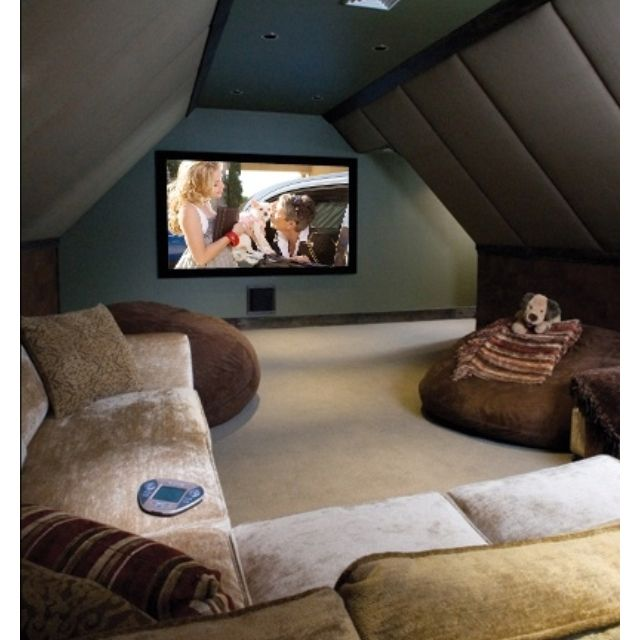 Home Theater Rooms, Home, House