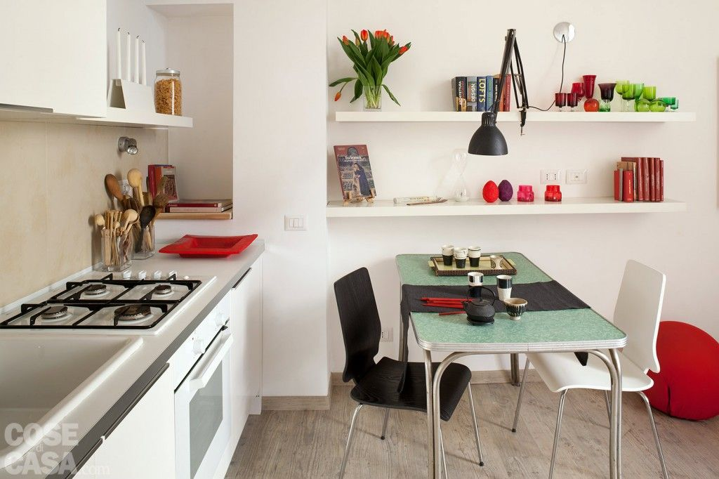 Pensile e scolapiatti a vista #cucina #kitchen #home #casa | For the ...
