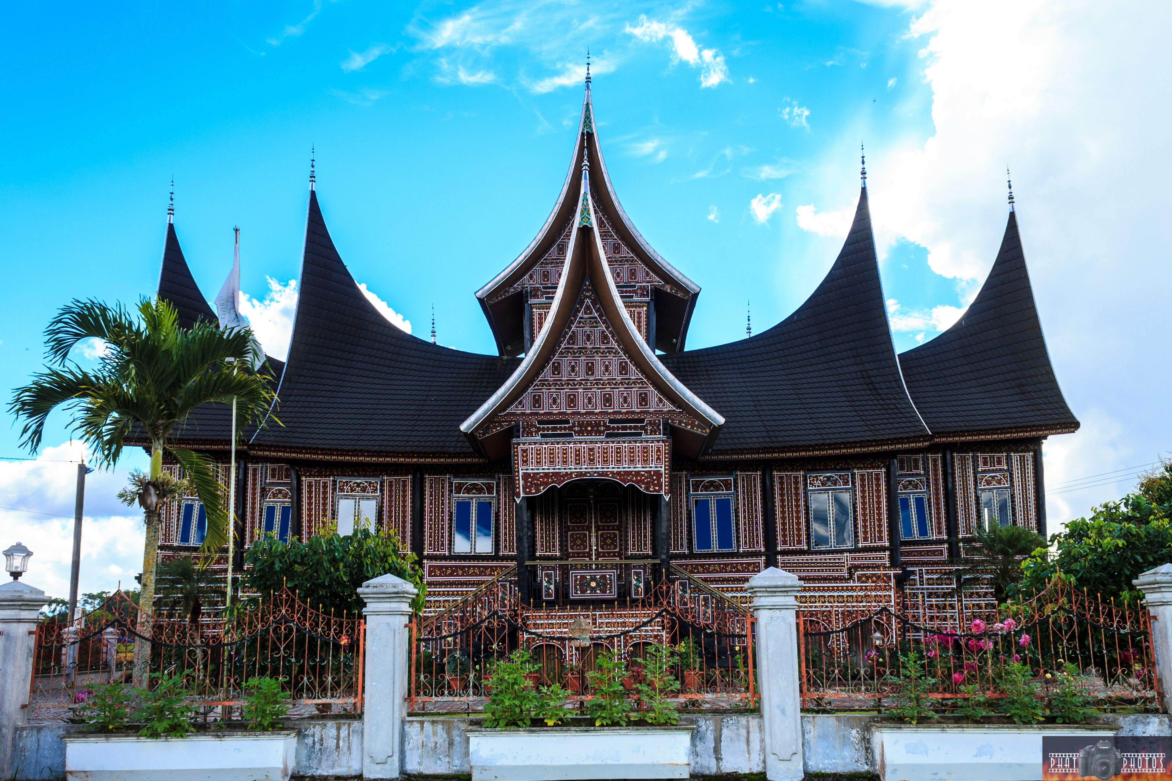 Minangkabau House  Bukittinggi  Pinterest  Minangkabau, Bukittinggi and Indonesia