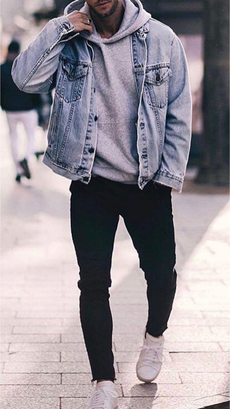 23 Jeansjacken-Outfits die du lieben wirst! #jeanjacketoutfits