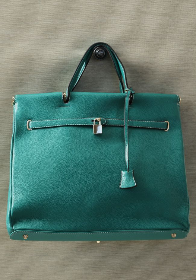 Venetian Outing Bag In Teal 55.99 @ shopruche.com