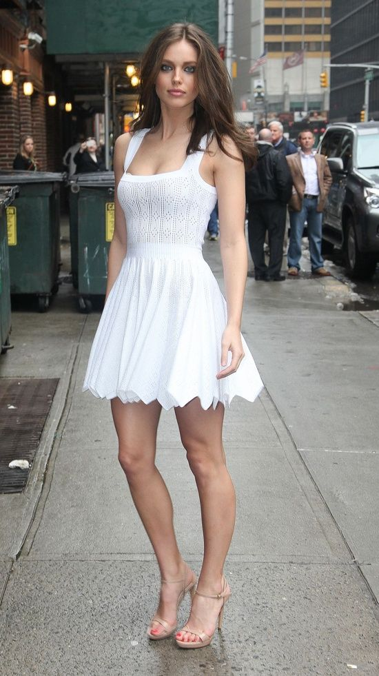 the Best White Dresses for Summer | High heel, Sandals and Summer