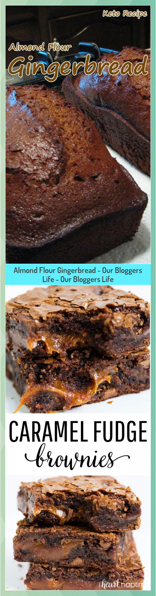Almond Flour Gingerbread - Our Bloggers Life - Our Bloggers Life #Almond #Bloggers #Flour #Gingerbread #Life