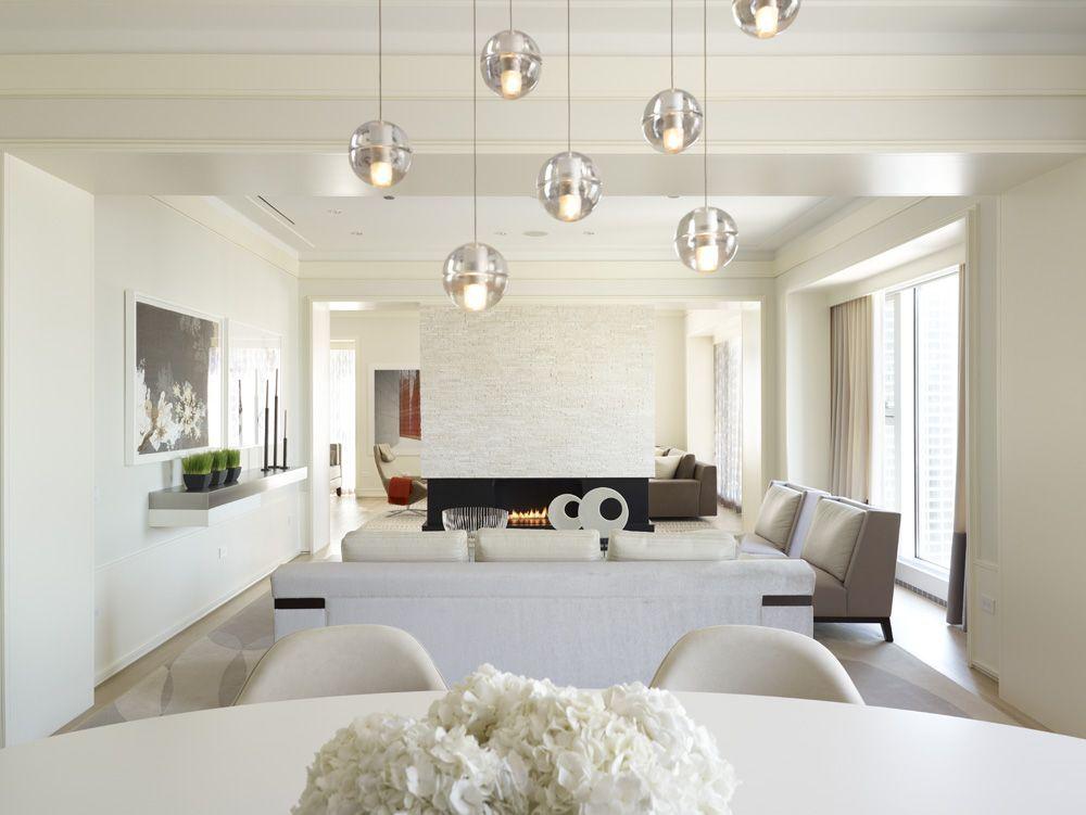 This modern city retreat encompasses the sensational interior design by jessica lagrange interiors of a condominium for a suburban chicago family