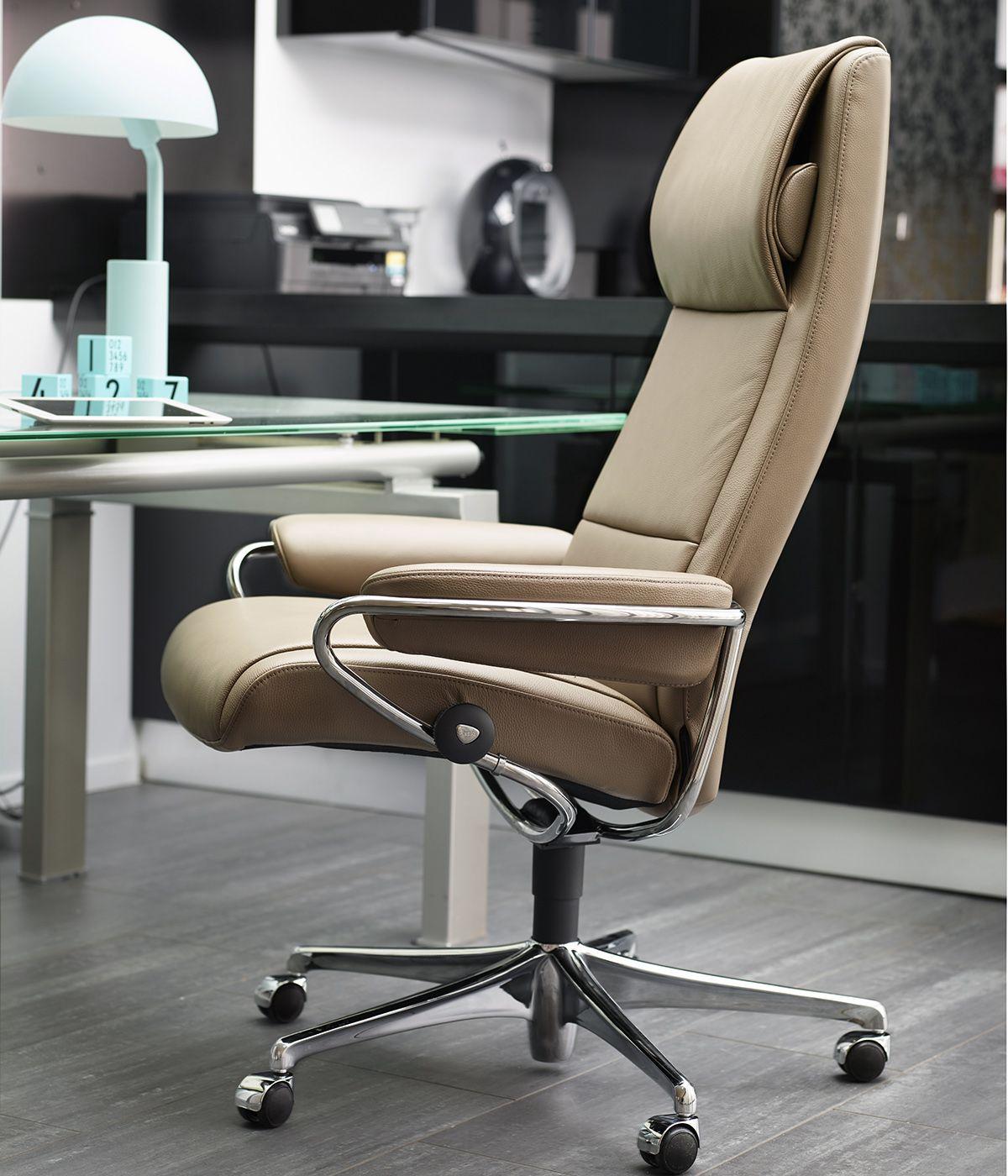 arbeitsplatz home office stressless paris pause home. Black Bedroom Furniture Sets. Home Design Ideas