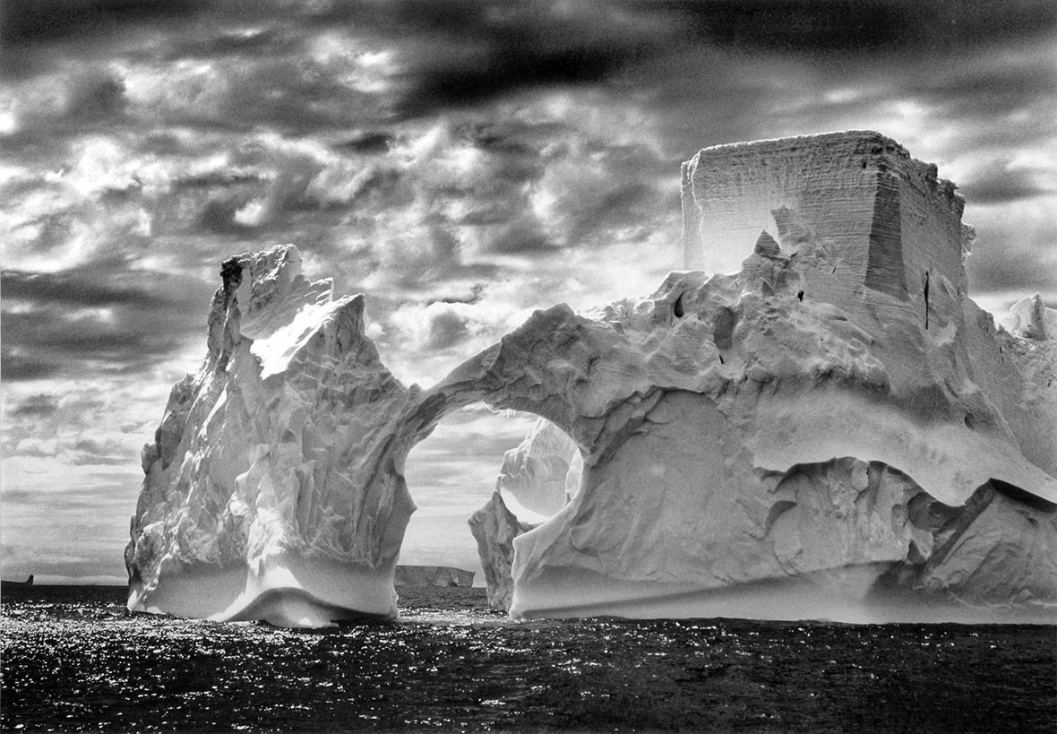 Sebastiao Salgado, Iceberg Castle Between Paulet Islands And The South Shetland Islands On The Weddell Sea, 2005