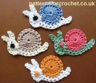 moon snail diagram snails   crochet crochet snail diagram #3