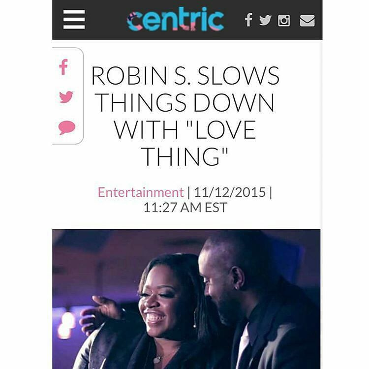 @Regrann from @kingjamesworthy -  Our Single Is Growing | [@therealrobin_s] - Love Thing: View Full Article On [@centrictv]..#2015 #ItsKing #RobinS #Lovething #Regrann