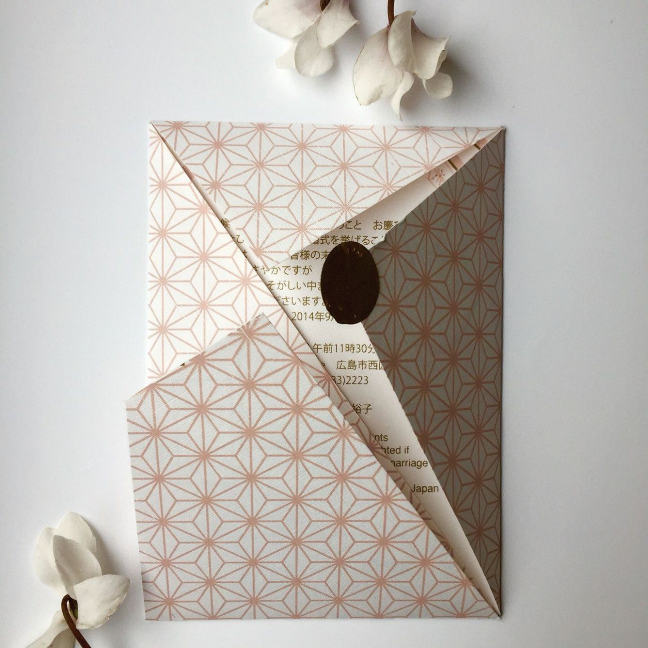 wedding card in 2020 with images  origami wedding