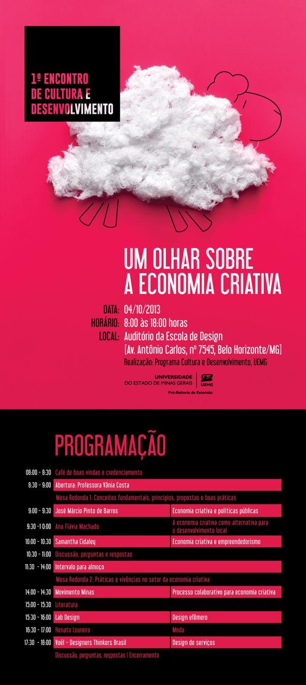 1º Encontro de Cultura e Desenvolvimento ED/UEMG on Behance