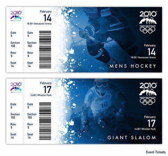 32 Excellent Ticket Design Samples Uprinting Ticket Design Event Tickets Design Sports Ticket Design