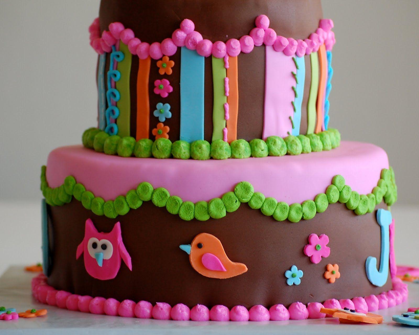 Owl Birthday Cakes for Girls happy birthday jade flamingo