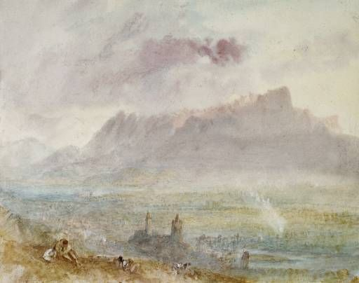 Town And Lake Of Thun Joseph Mallord William Turner 1841