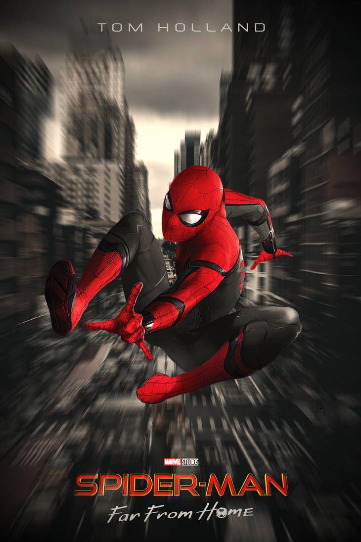 สไปเดอร แมน ฟาร ฟรอม โฮม Spider Man Far From Home 2019 Spiderman Amazing Spiderman Spiderman Pictures