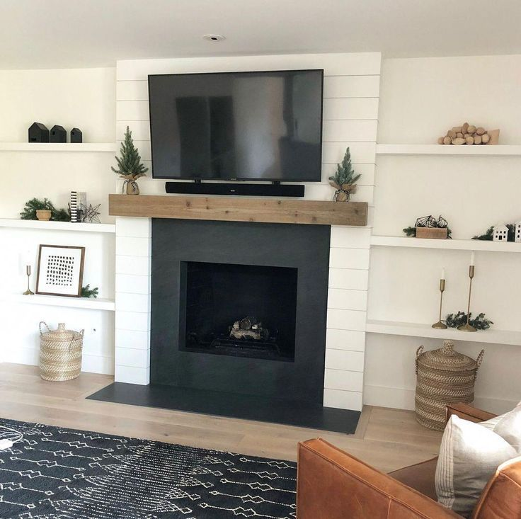 5 Amazing and Unique Ideas: Tv Over Fireplace Focal Points ...