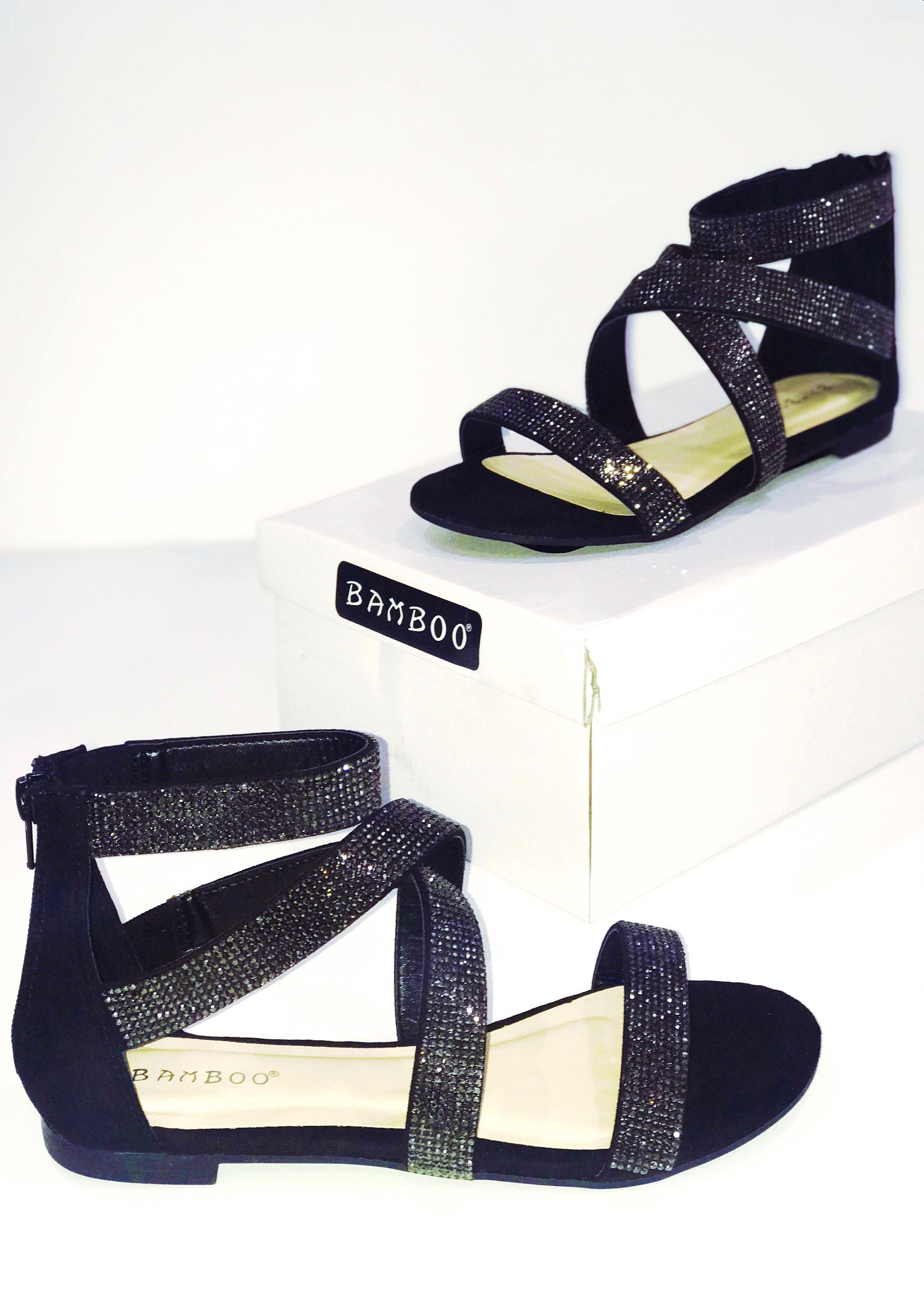 Summer Sparkle Sandals Black With Images Sparkle Sandals Sandals Black Sandals