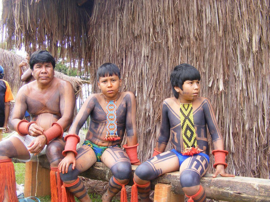 Okara Karaja 2 Indigenous Americans Central American Amazon Tribe