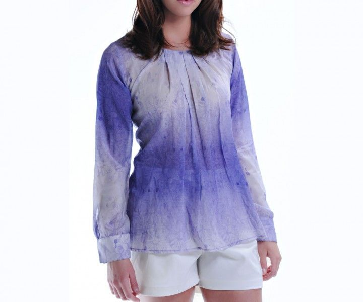 Get ready for Memorial Day Weekend with the Pleated 'Gili' Lavender Blouse http://zankhna.com/product/pleated-gili-lavender-blouse/