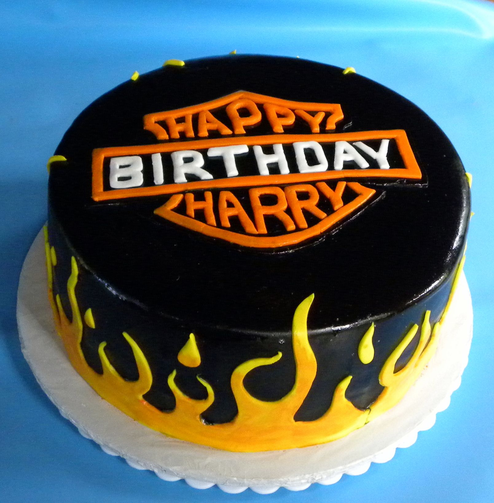 Happy Birthday Harry Cakes We Make Pinterest Birthday Happy