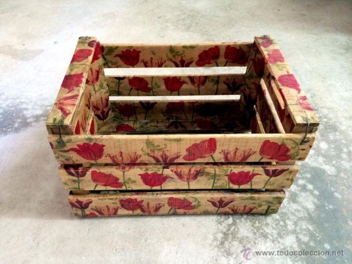 Cajas de fruta de madera buscar con google boxes - Como decorar cajas de madera de fruta ...