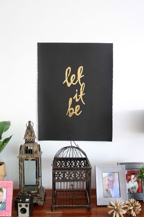 'Let It Be' print - via DTLL.