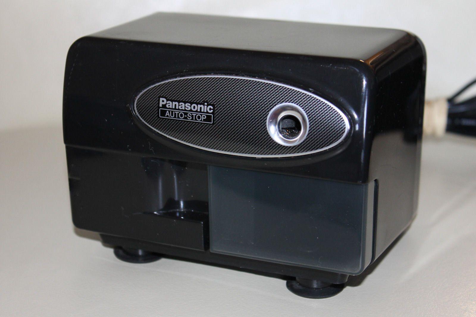 Panasonicr kp310 electric pencil sharpener black