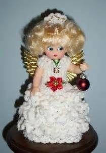 ANGEL-TREE-TOPPER-AIR-FRESHENER-DOLL-Crochet-HANDCRAFTED-4-Style ... #airfreshnerdolls