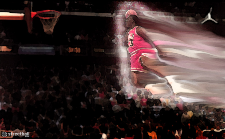 Michael Jordan NBA Slam Dunk Contest Wallpaper HD