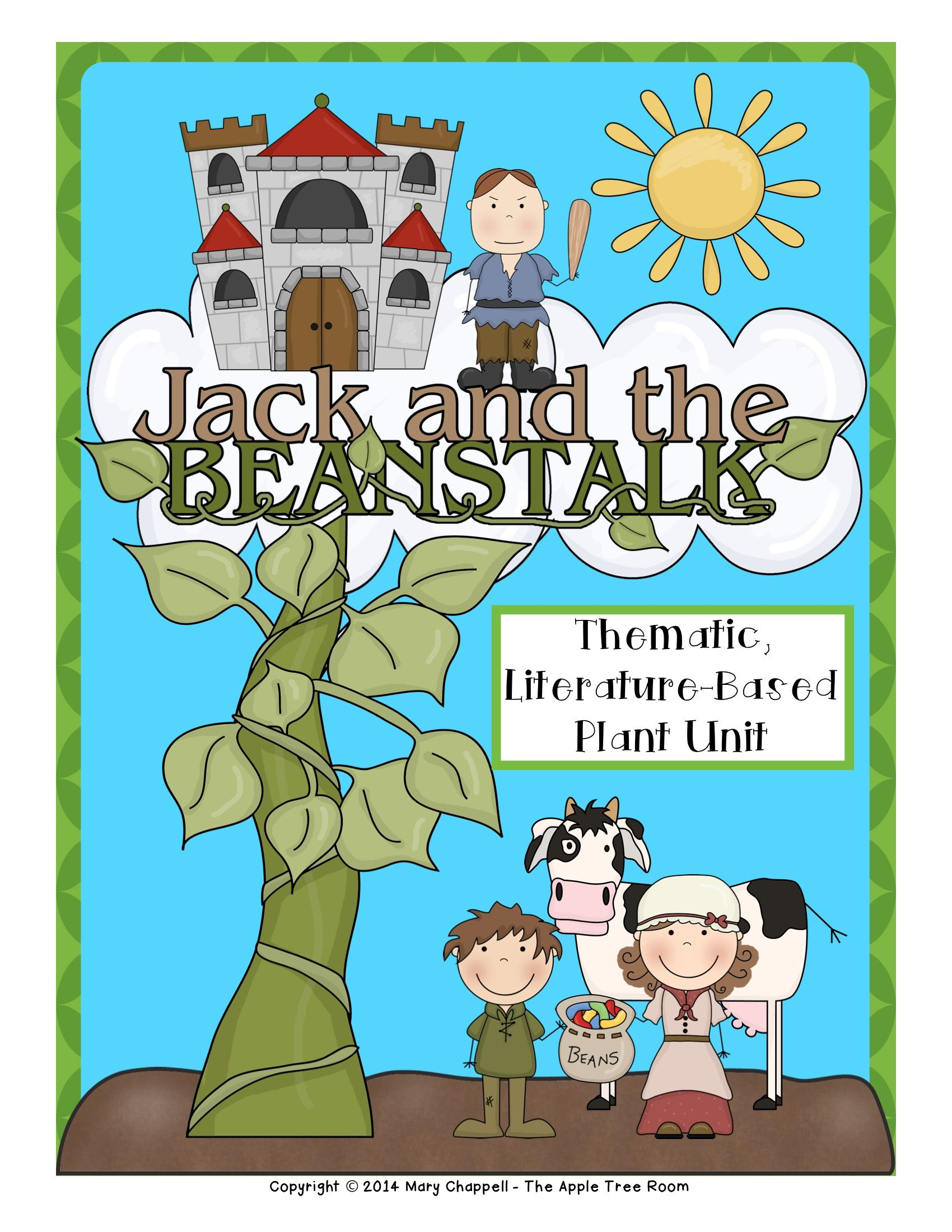 Jack And The Beanstalk Activities With Ccss Reading