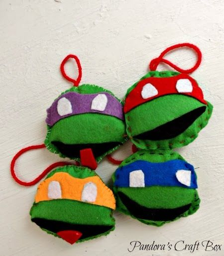 Pandoras Craft Box  Kids Activities  Pinterest  Ninja turtles
