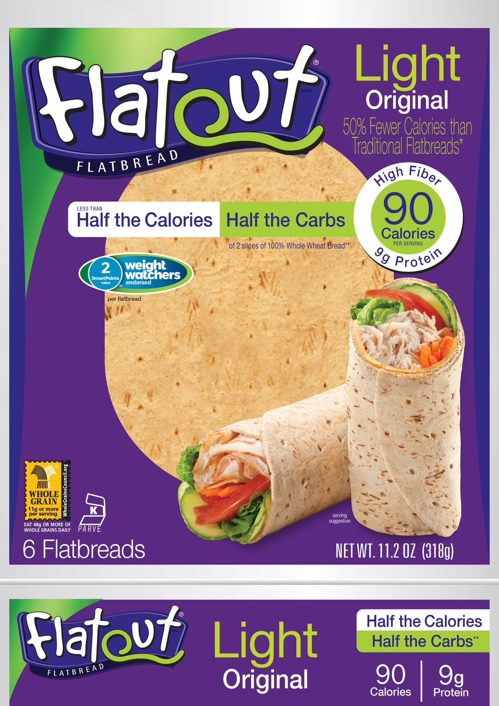 Light Original Low Calorie Wraps Flatout Low Calorie Wraps Low Carb Meals Easy Low Carb Wraps